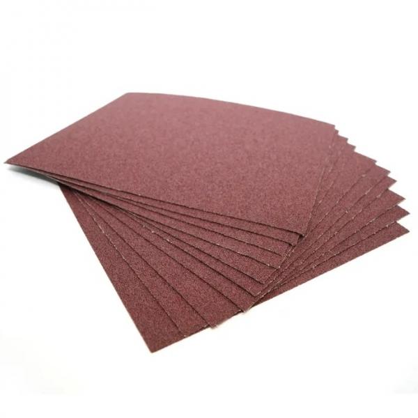 Шкурка шлифовальная р240 - 230*280мм - всего 10 листов (на тканевой основе) () 410 г