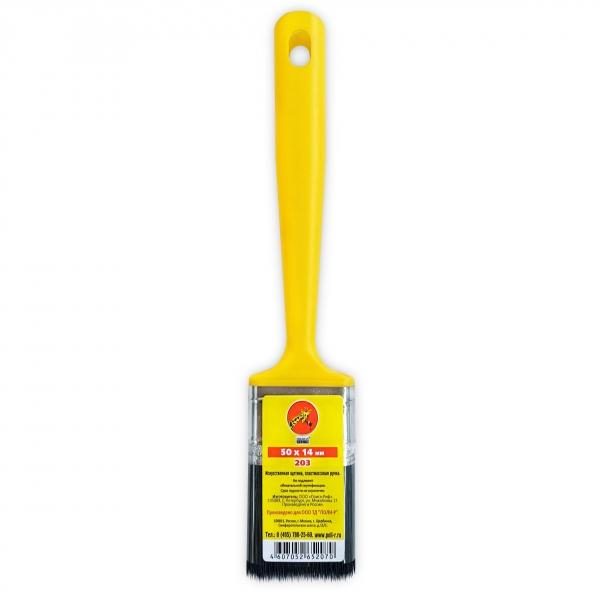 Кисть флейцевая с пластмассовой ручкой 50*14 мм () 280 г