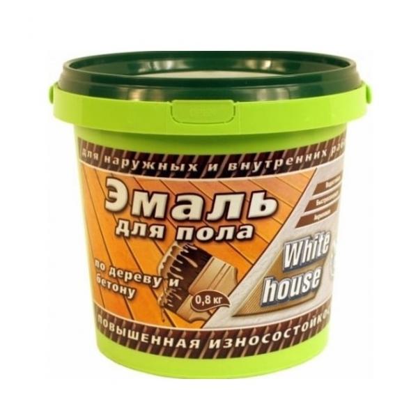 Эмаль акриловая для пола полуматовая (золотисто-коричневый) 2,2 кг