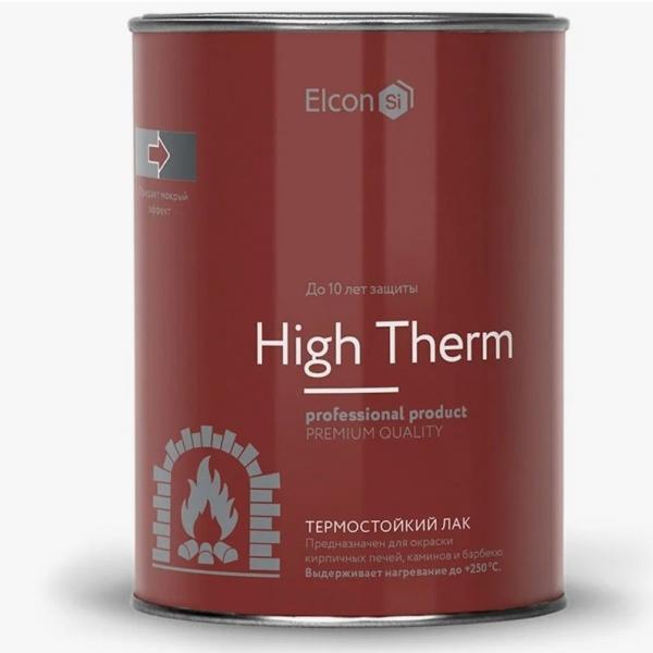 Термостойкий лак для печей и каминов Elcon
