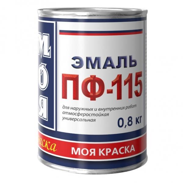 Эмаль ПФ-115 Моя краска полуглянцевая (желтый) 800 г