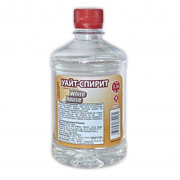 Уайт-спирит (прозрачный) 1 л