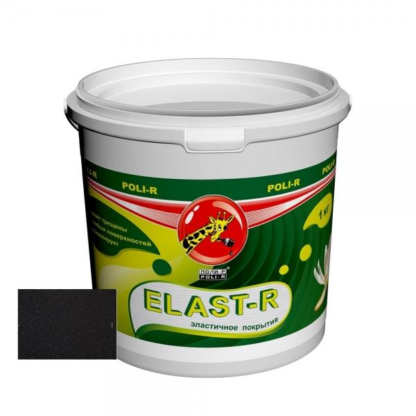 Эластичное покрытие Elast-R сверхстойкое (черный ral 9005) 1 кг